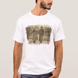 Leo Tolstoy and the author Maxim Gorky T-Shirt