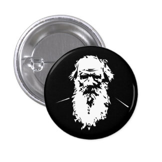Leo Tolstoy - portrait Pinback Button