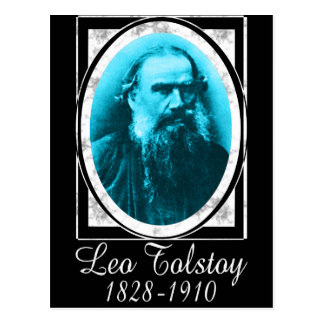 Leo Tolstoy Postcard