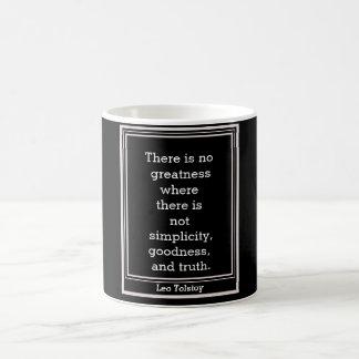 """""""Leo Tolstoy quote = mug"""
