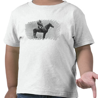 Leo Tolstoy riding Delire T-shirts
