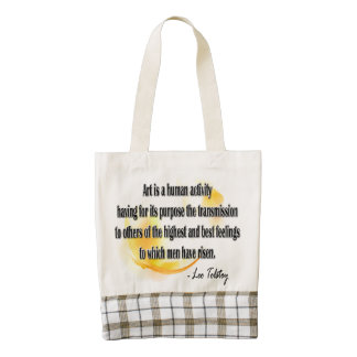 Leo Tolstoy Zazzle HEART Tote Bag
