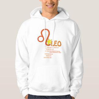 Leo Traits Hooded Sweatshirt