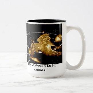 Leo Two-Tone Coffee Mug