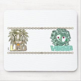 Leo Virgo zodiac friendship gifts Mouse Pad