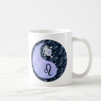Leo Yin Yang Classic White Coffee Mug