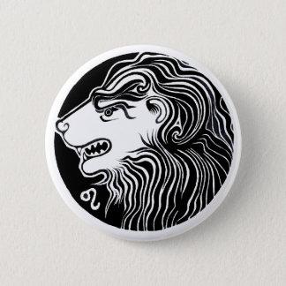 Leo - Zodiac Badge Button