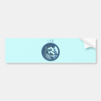 Leo Zodiac Bumper Sticker