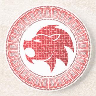 Leo Zodiac Coaster