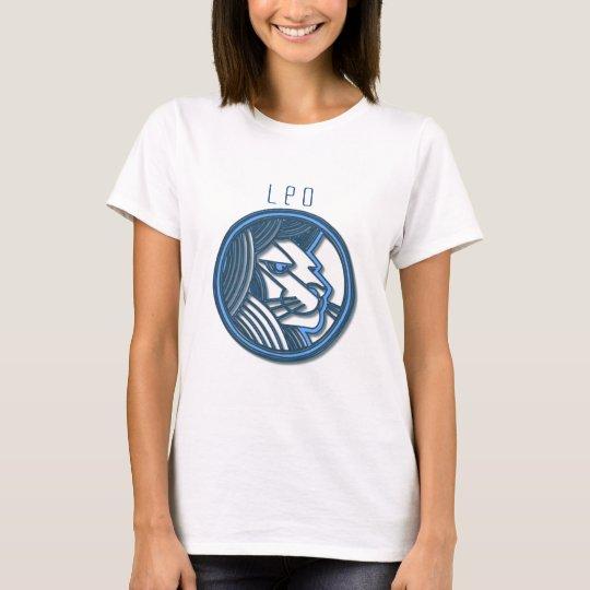 Leo Zodiac Fitted T-Shirt