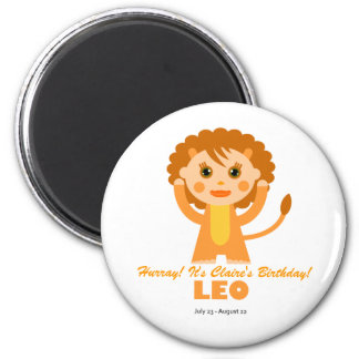 Leo Zodiac for Kids Magnet
