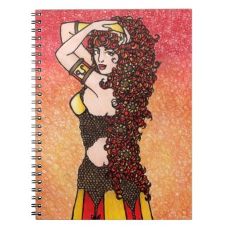 Leo Zodiac Lion Goddess Astrology Leos Symbol Notebook