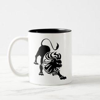 Leo Zodiac Pictogram Mug