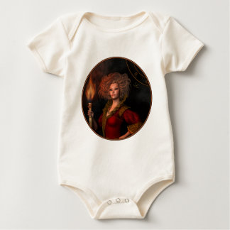 Leo zodiac sign baby bodysuit