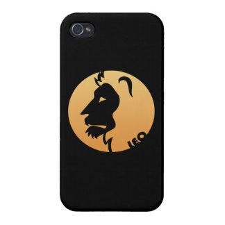 Leo Zodiac Sign iPhone 4 Cases