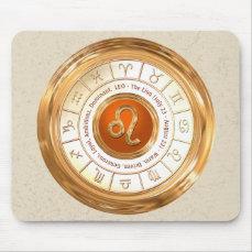 LEO Zodiac Sign Personality Traits Mouse Pad