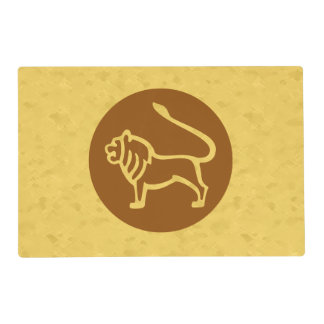 Leo Zodiac Sign Placemat