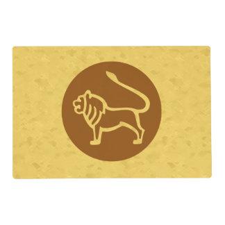 Leo Zodiac Sign Placemat