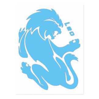 Leo Zodiac Sign Postcard