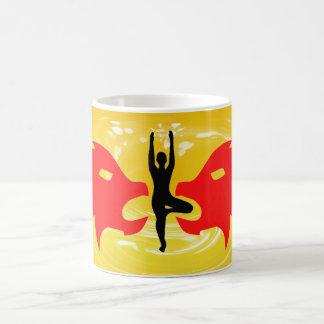 Leo Zodiac Sign - Yoga Mugs