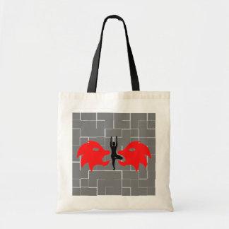 Leo Zodiac Sign - Yoga Tote Bag