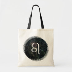 Leo Zodiac Star Sign Universe Crafts & Shopping Tote Bag at Zazzle