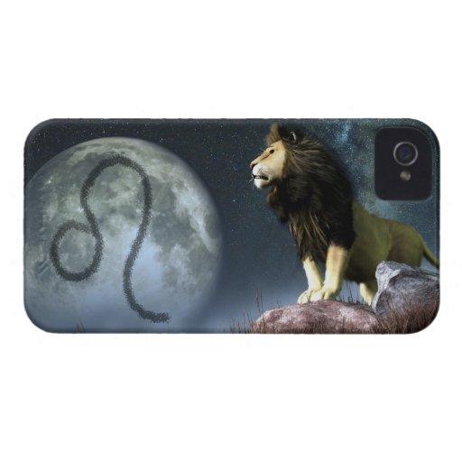 Leo Zodiac Symbol Case-Mate Blackberry Case