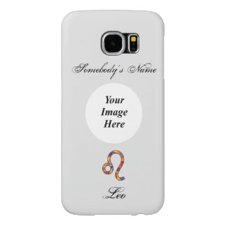Leo Zodiac Symbol Element Samsung Galaxy S6 Cases