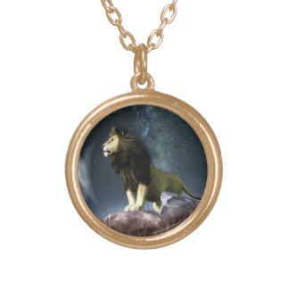 Leo Zodiac Symbol Necklace
