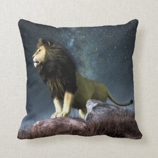 Leo Zodiac Symbol Throw Pillow