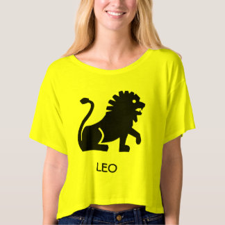 Women's Crop Top - Leo T-shirt