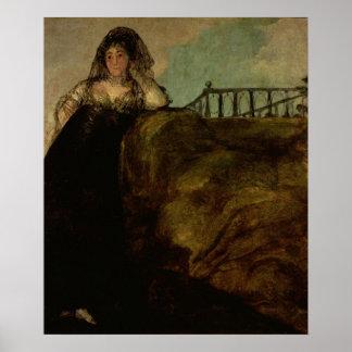 Leocadia Zorilla, the Artist's Housekeeper Poster