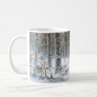 Leodinovich: Elk in the Forest