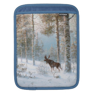 Leodinovich: Elk in the Forest Sleeve For iPads