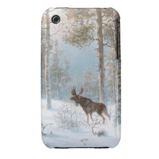 Leodinovich: Elk in the Forest iPhone 3 Case