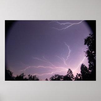 Leominster Lightning Poster