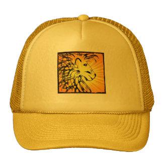 león abstracto para el southerton kathy gorras de camionero