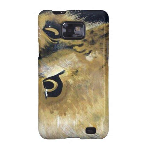 León Acryilc que pinta arte original Samsung Galaxy SII Carcasa
