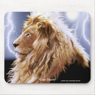 León africano en peligro GRANDE Mousepad de la esp Alfombrillas De Raton