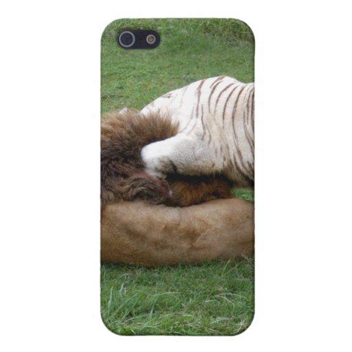 León africano i iPhone 5 funda