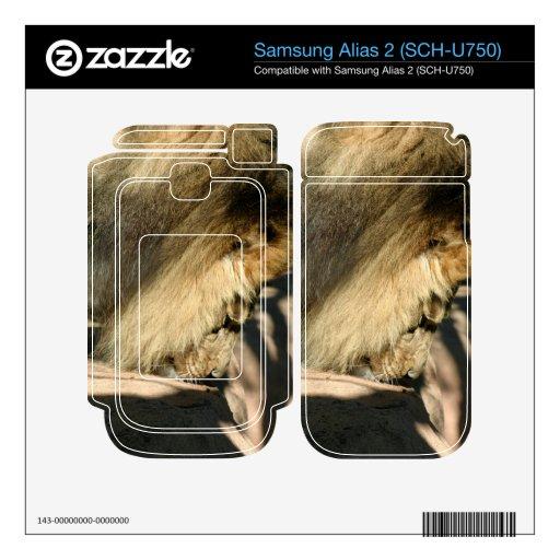 León africano samsung alias 2 skin
