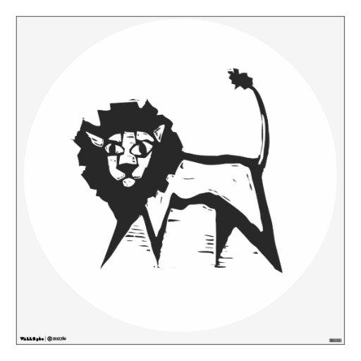 León africano vinilo