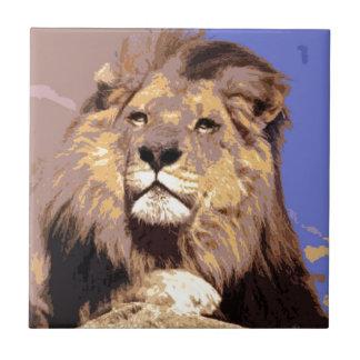 León Azulejo Cuadrado Pequeño