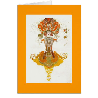Leon Bakst Ballet Card
