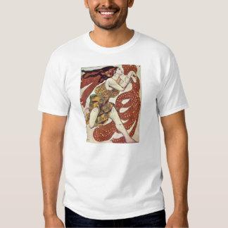 Leon Bakst-Costume design for a bacchante Shirt