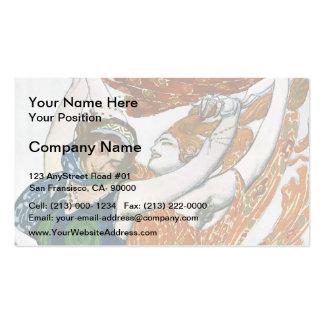 Leon Bakst: Operatic costume designs Business Card Templates
