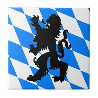 León bávaro negro tejas  cerámicas