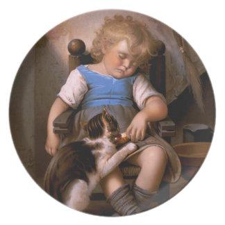 Léon Bazille Perrault - Unconscious Sleeper Dinner Plate