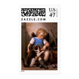 Léon Bazille Perrault - Unconscious Sleeper Stamp