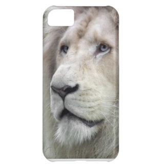 León blanco funda para iPhone 5C